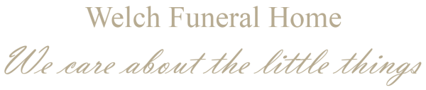 WELCH FUNERAL HOME